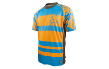 ixs Addanc Backcountry Jersey orange-blauw